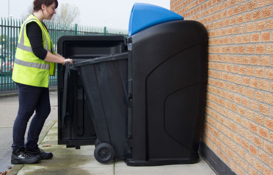Wat is dit? Rolcontainer behuizing