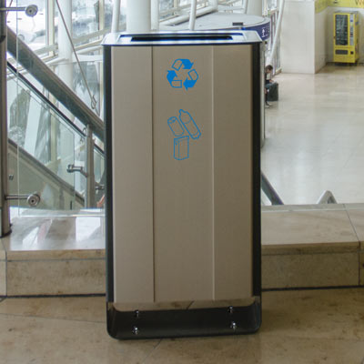 Electra™ 60 recycling afvalbak voor PMD